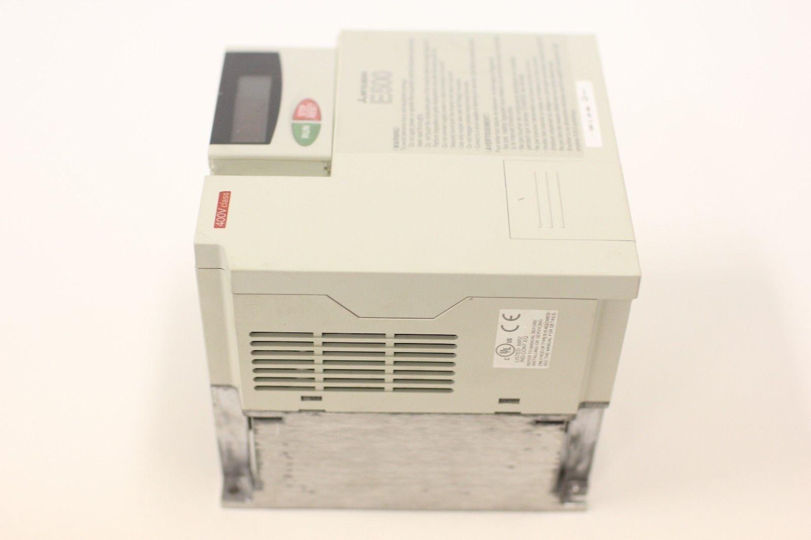 Rblt Mitsubishi E500 Inverter 5 HP VFD AC Drive FR-E540-3.7K-NA 480 V 15.1 A   eBay
