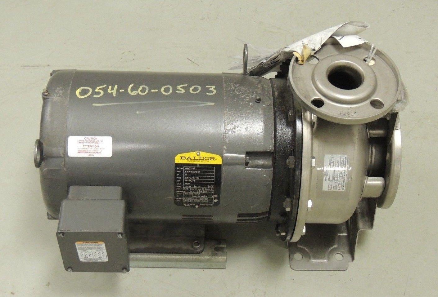 New ebara centrifugal pump with baldor motor a3u 50 160 Baldor industrial motor pump