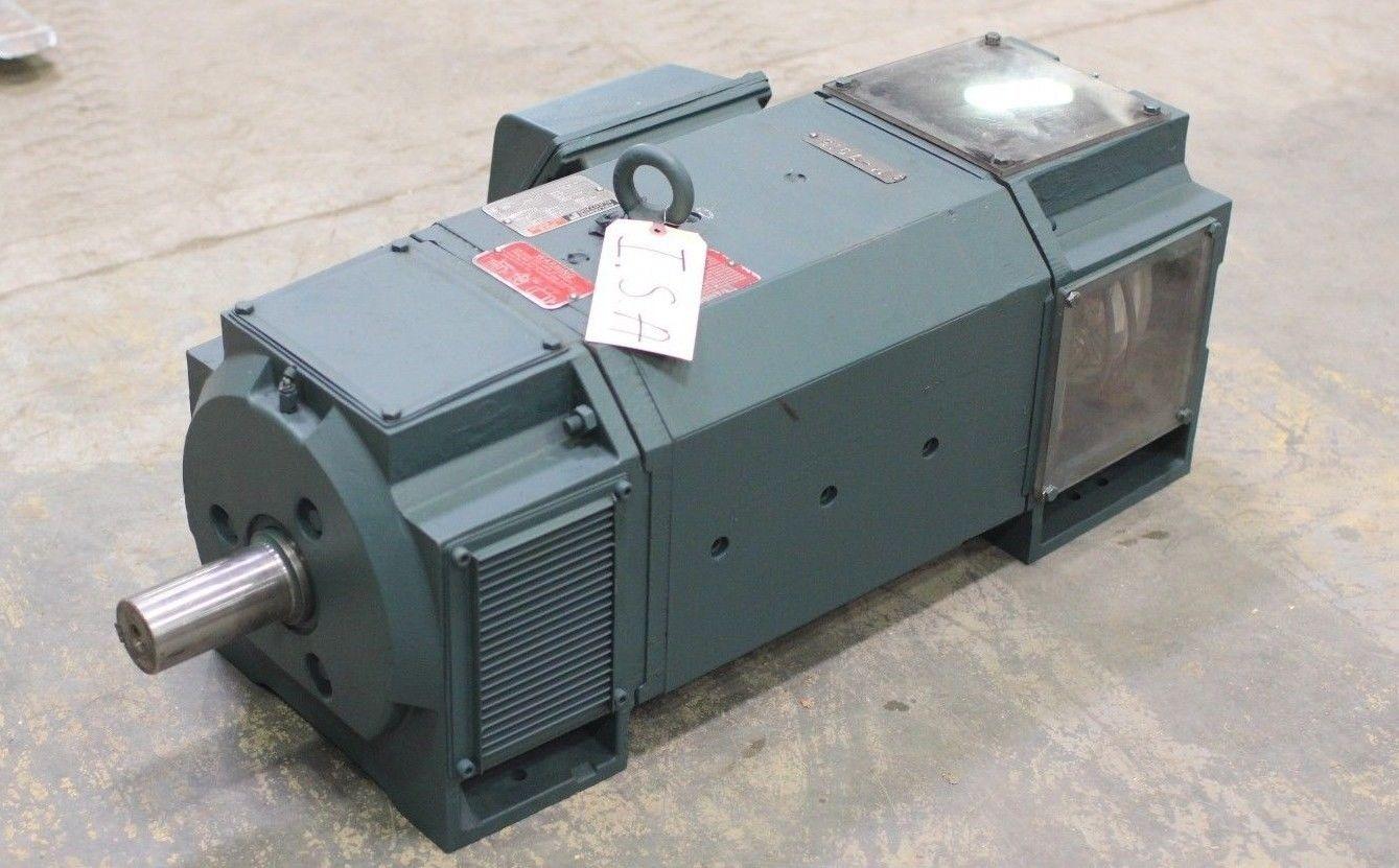 rebuilt reliance rpmiii 75 hp dc motor 02kh512087 ad fr