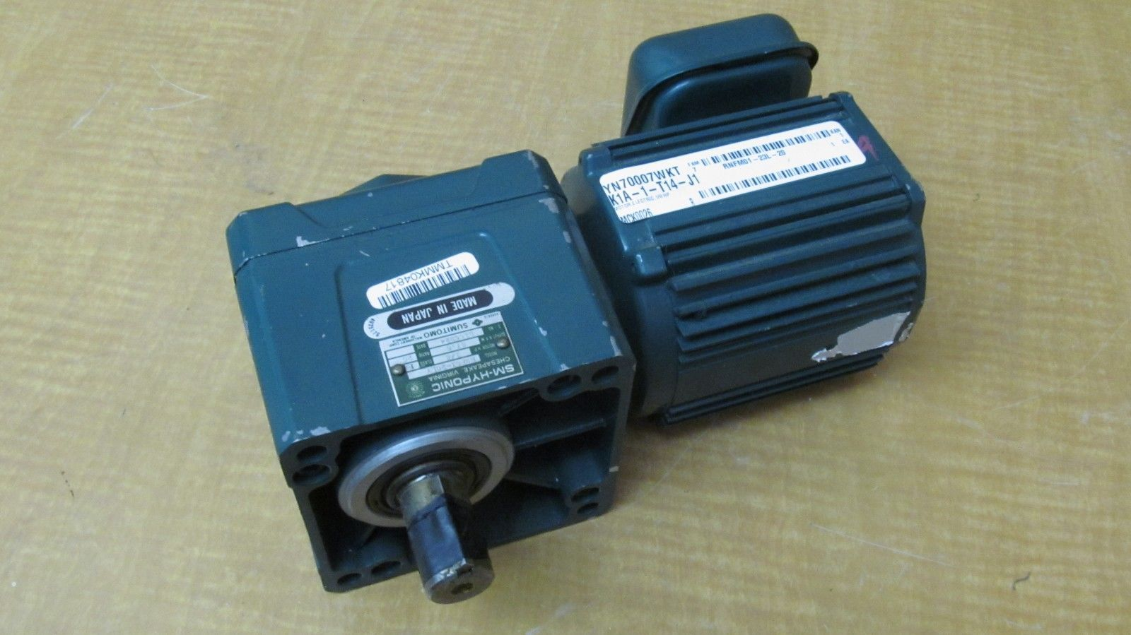 New Sumitomo Sm Hyponic Electric Motor Rmf01 20ly 1 8hp Rpm 87 5output D155224 Ebay