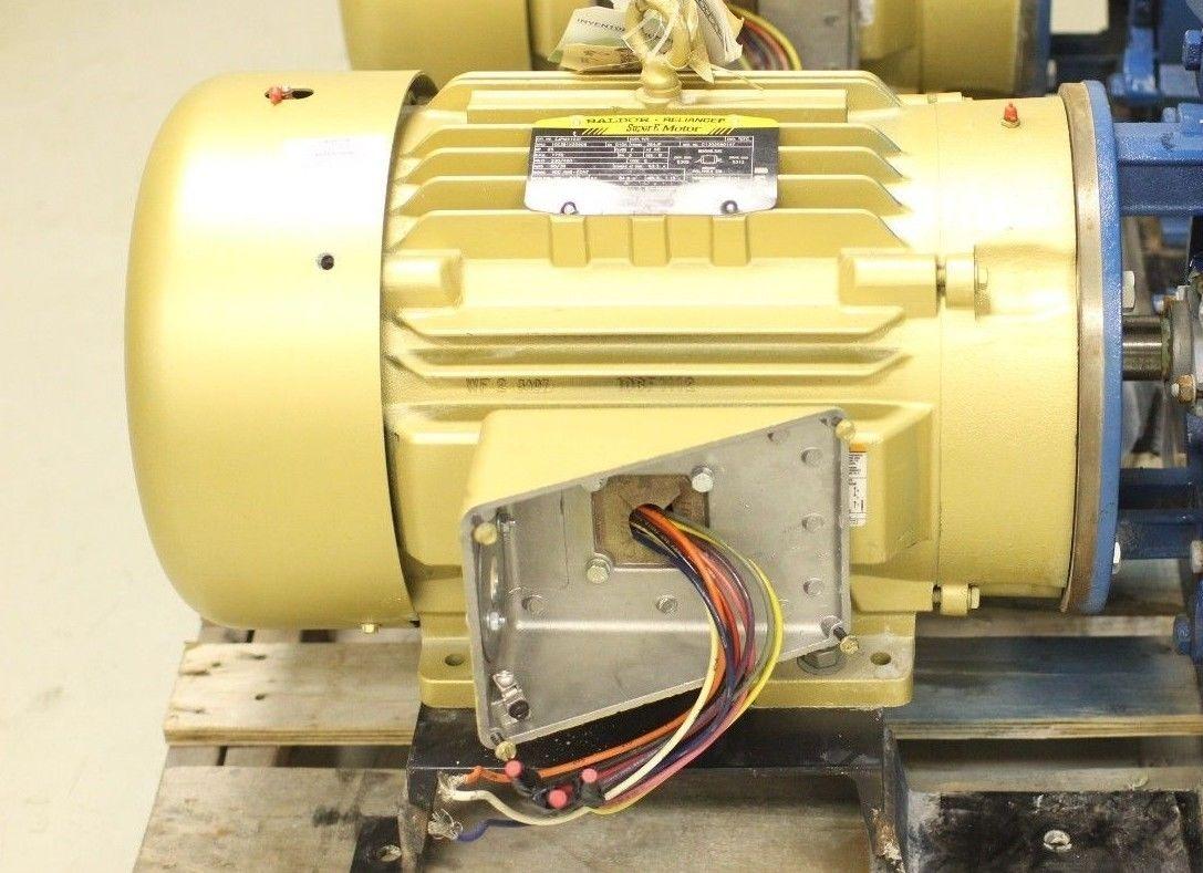 Used Baldor Reliance Super E Motor Ejpm4103t 25 Hp