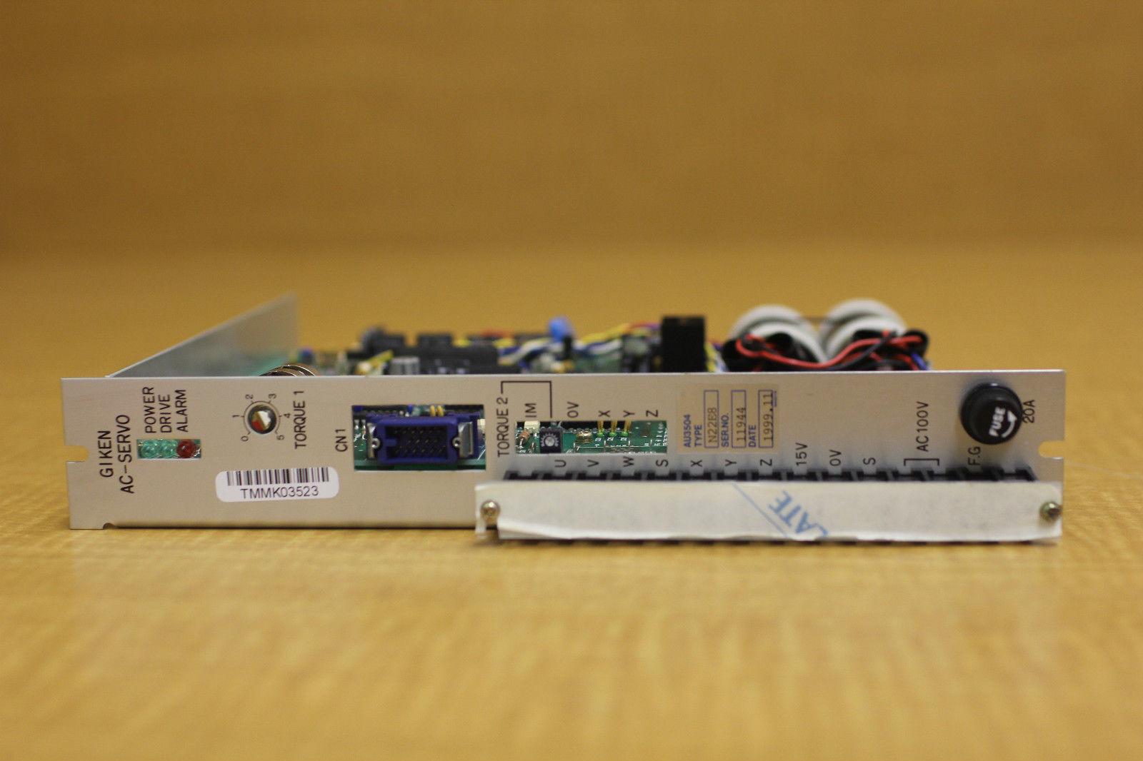 New giken motor speed control ac servo n22e8 tamagawa for Ac servo motor controller
