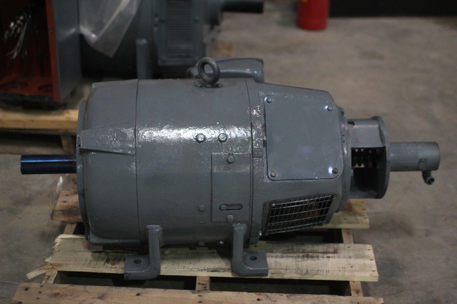 rebuilt westinghouse dc motor 40hp 1750 1950 rpm