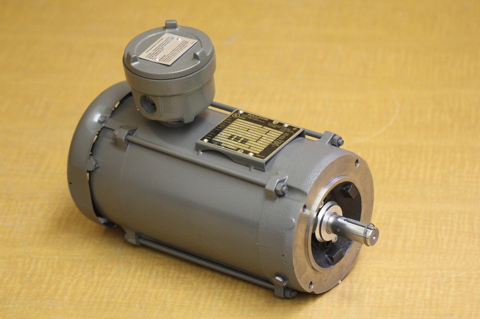 New Baldor Reliance Explosion Proof Motor Vm7037t I