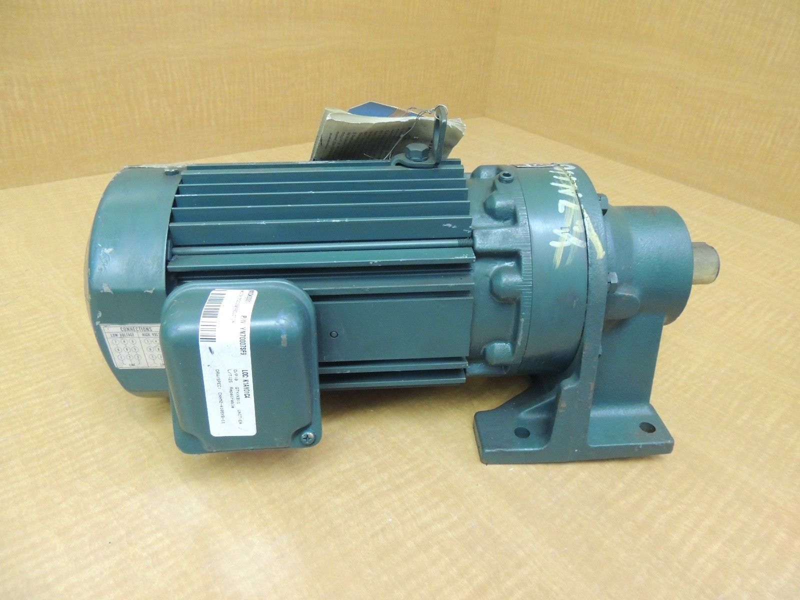 New Sumitomo Sm Cylco 3 Phase Induction Motor M6236041