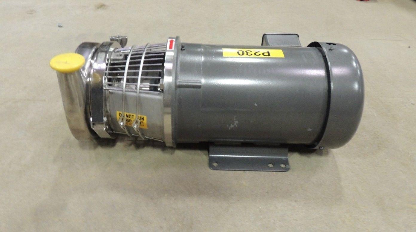 New 5 Hp Top Flo Pump S216 18tc 566s1822015 W Baldor Motor