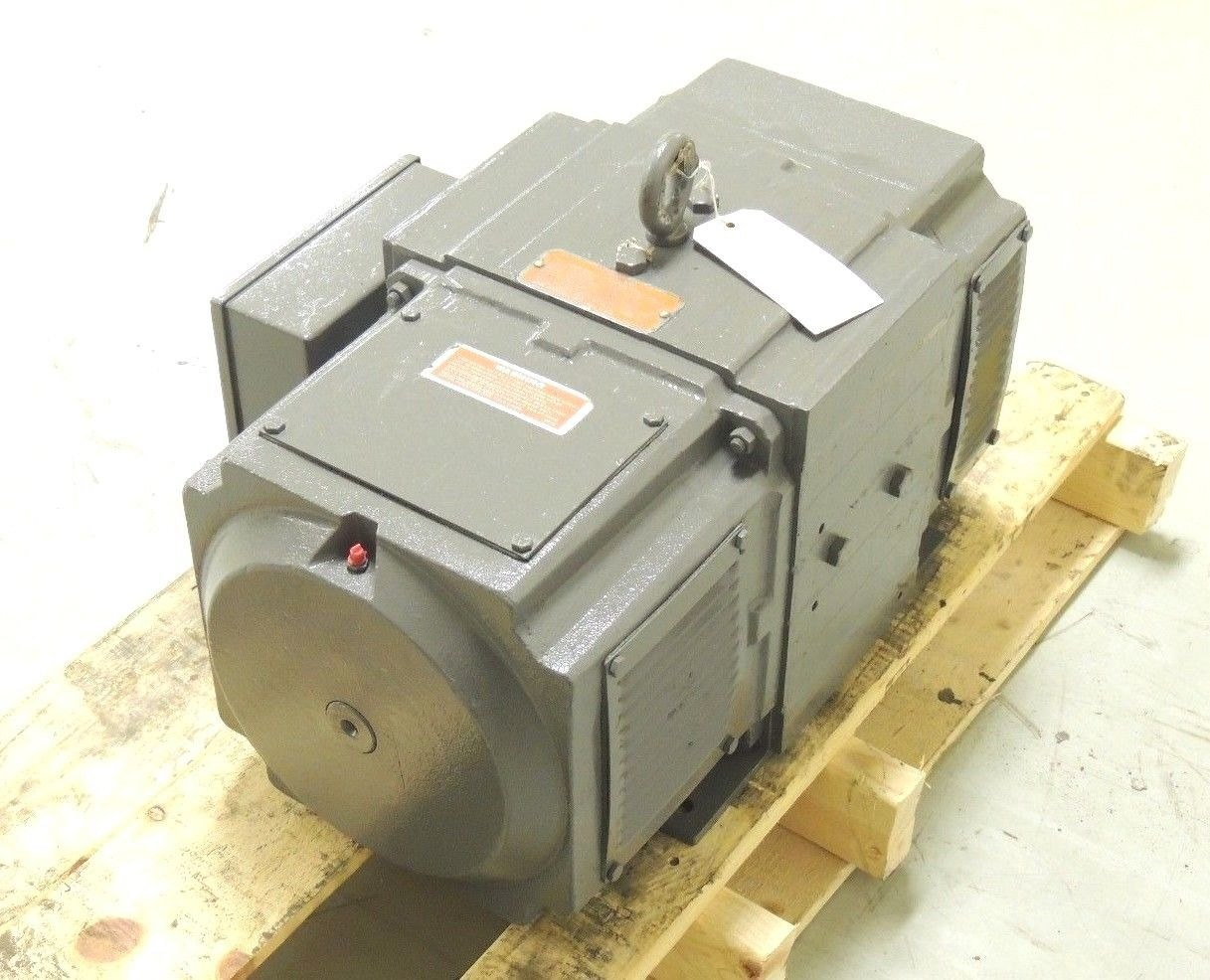 Used reliance dc motor 258at 1750 rpm spcl h p 240 v 62 for 150 hp dc electric motor