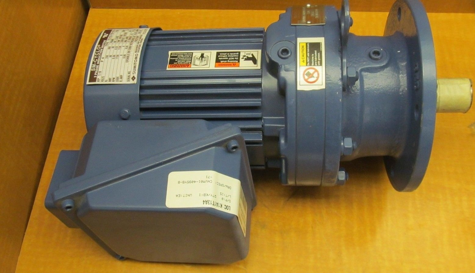 New Sumitomo Sm Cyclo Motor Cnvm01 6090yc B 71 1 8hp Ratio 71 4p