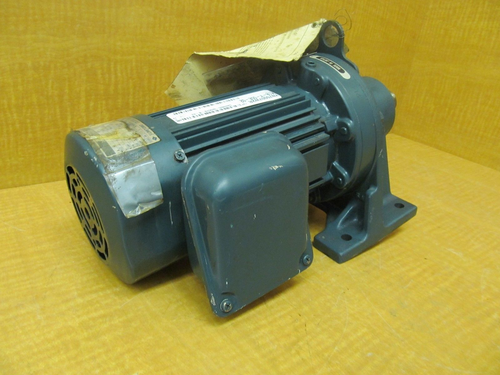 New Sumitomo Cyclo Motor Cnhm05 6095yb B 43 Hp 1 4 4p Ratio 43 Ebay