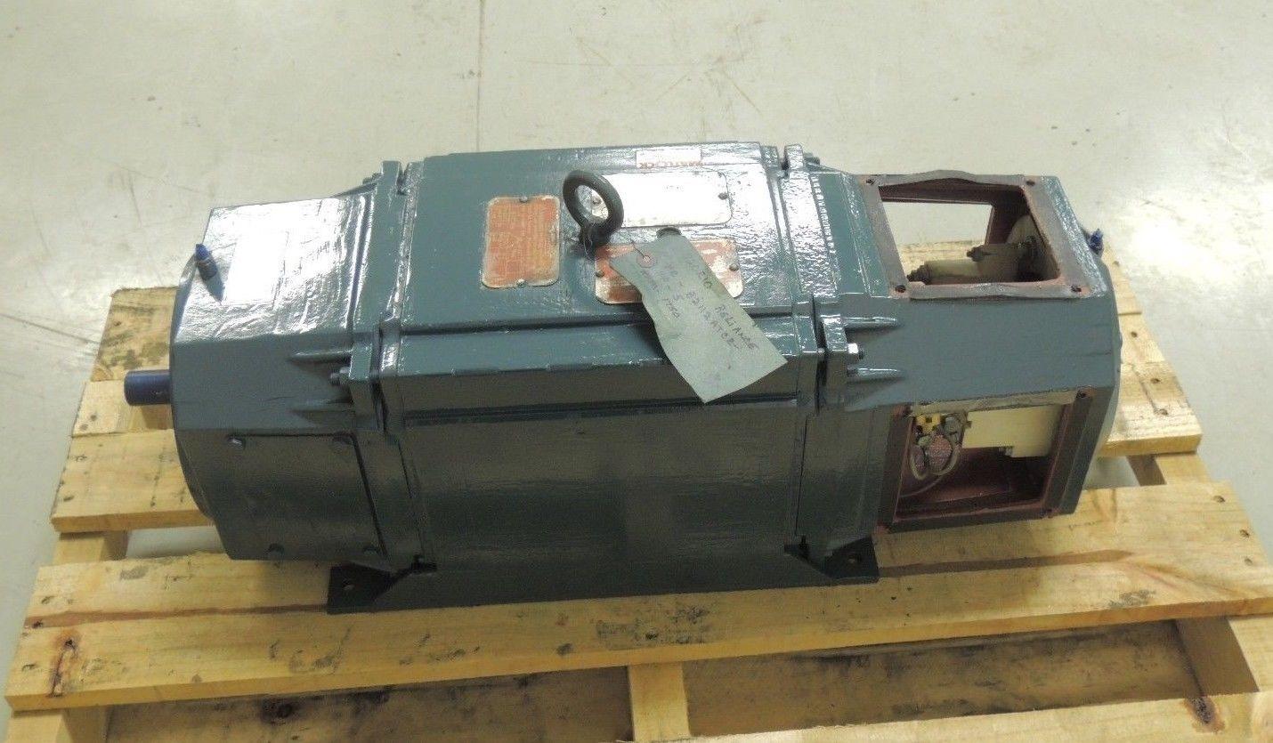 Rebuilt Reliance Dc Motor B2112atcz 5 Hp 1750 Rpm 180 V