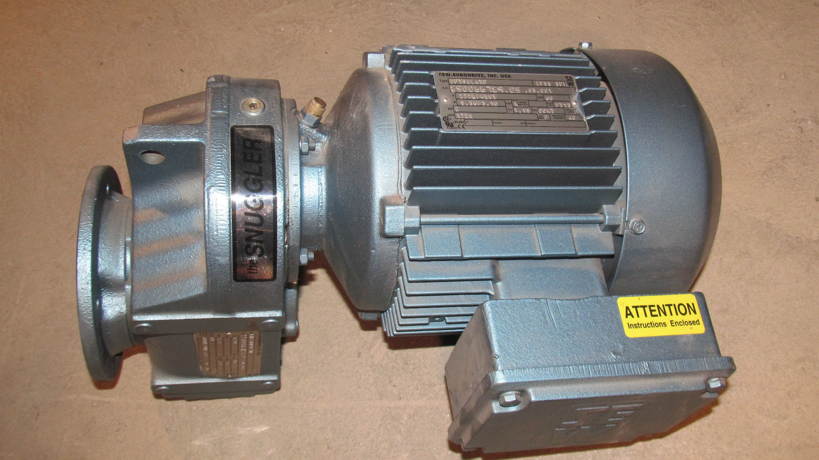 New sew eurodrive gearbox gear motor s o for Sew eurodrive gear motor