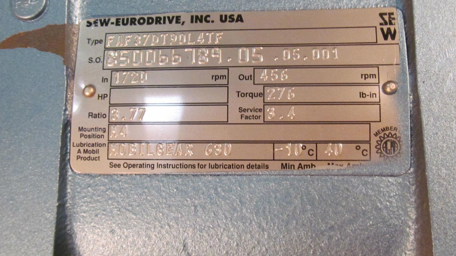 sew eurodrive gearbox repair manual