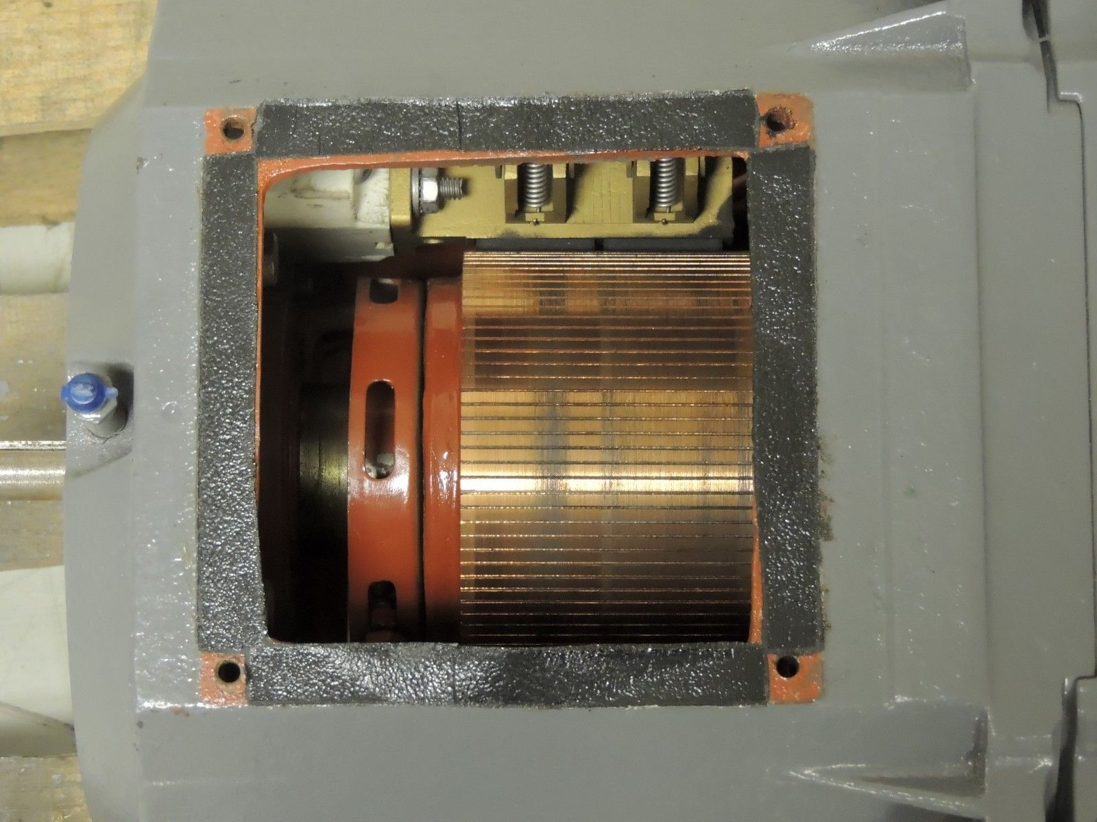 Rebuilt reliance electric dc motor b2112atz 20 hp 1750 for Who rebuilds electric motors