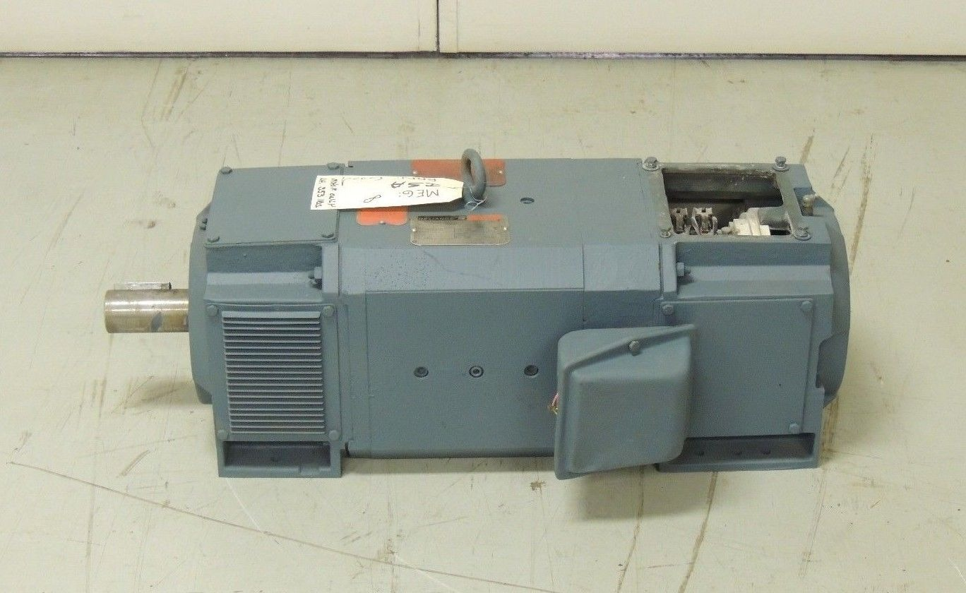 Used Reliance Dc Motor Lc2113atz 40 H P 2500 Rpm 500 V 300