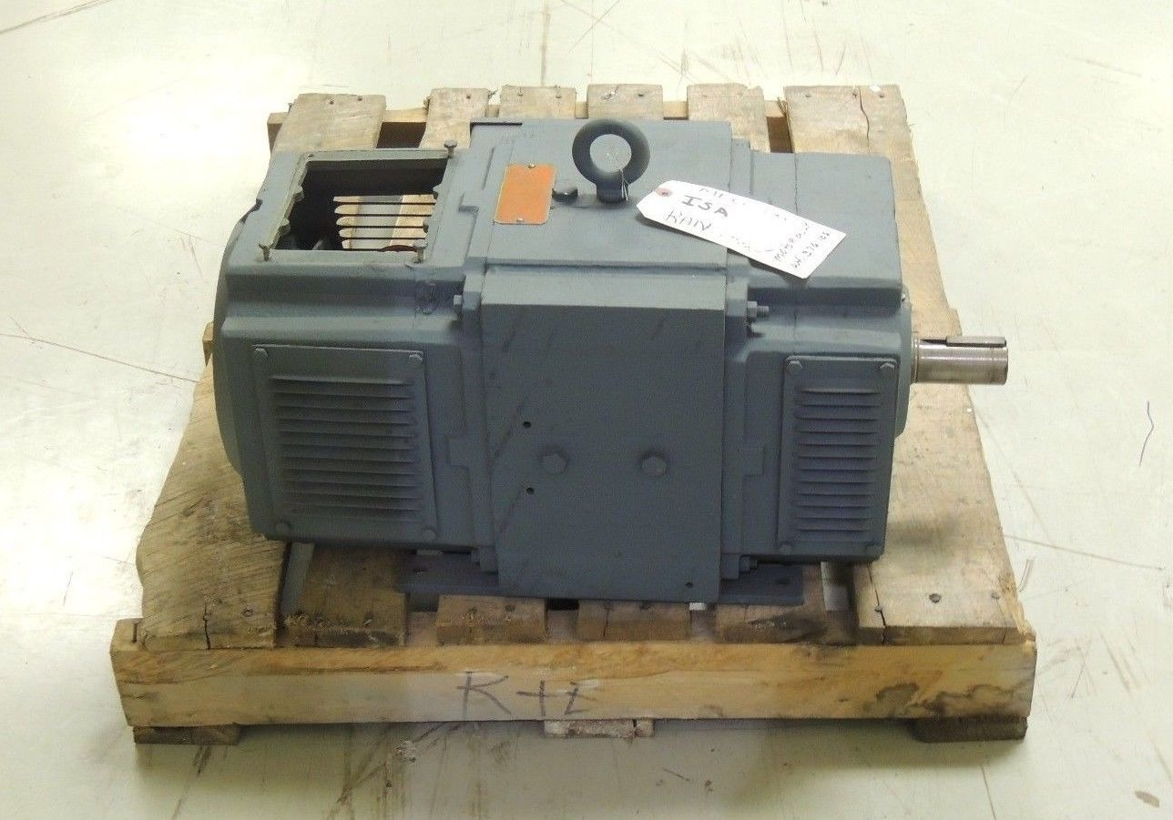 Used reliance dc motor 5la708819t14 258at frame 15 h p for 15 hp dc electric motor