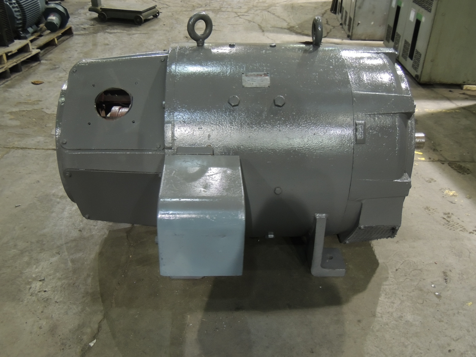 Used Westinghouse Dc Motor 685 As 150 H P 400 Rpm 240