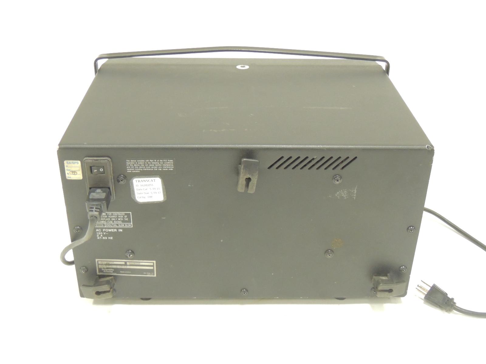 Used Scientific Atlanta Dynamic Signal Analyzer Sa390