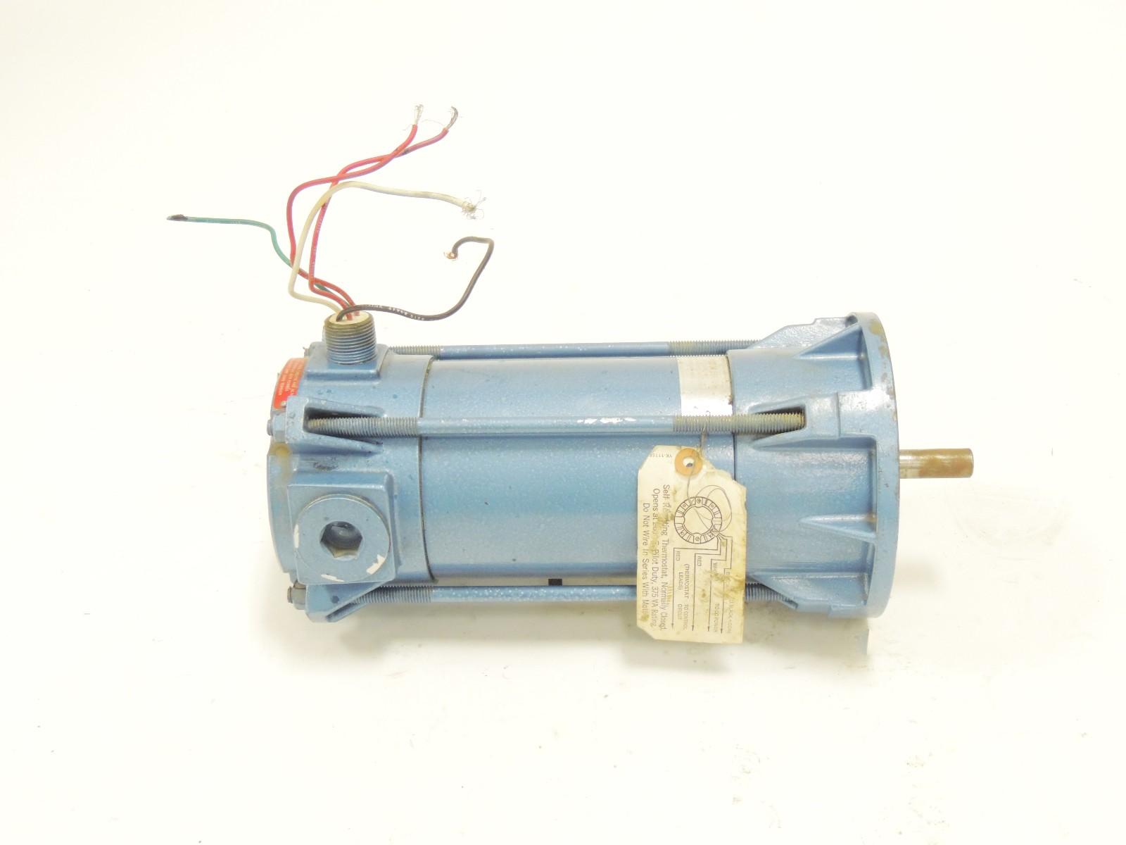 Used Pacific Scientific Dc Motor Ep3640 1436 7 56bc Cu 1 2 H P 90 Vdc 1800 R Ebay
