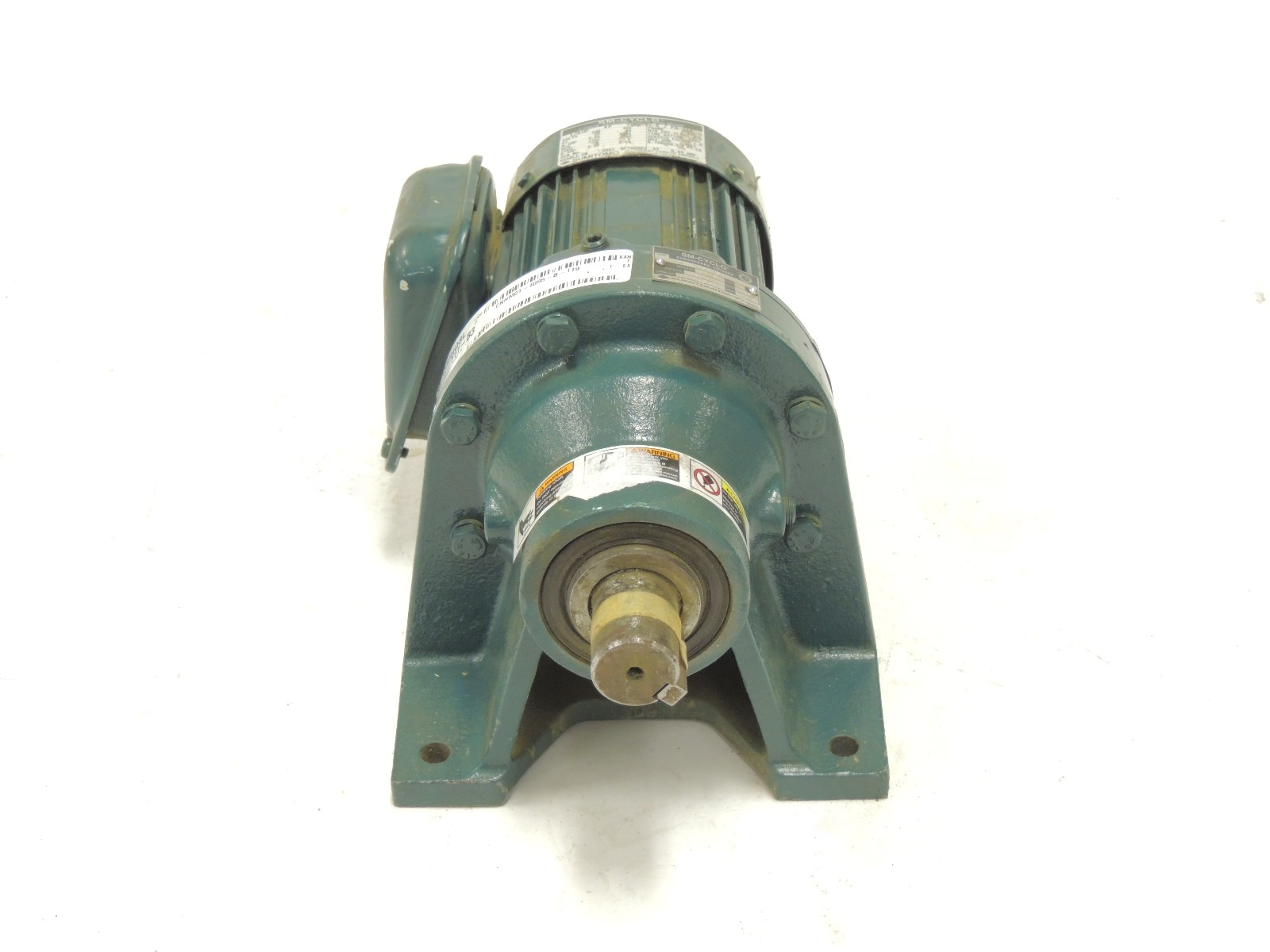 New Surplus Sumitomo Sm Cyclo Gear Motor Cnhm01 4095 B 119 3 Phase 1 8 H P