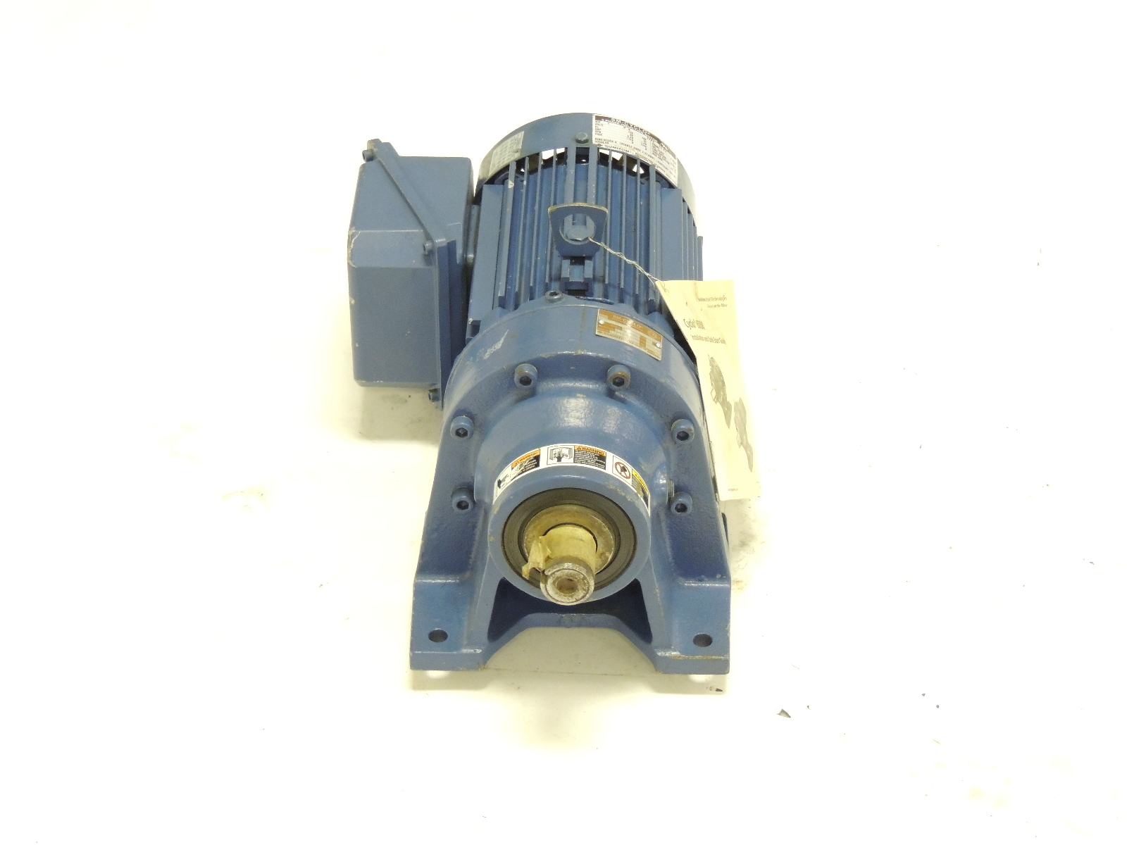 New Sumitomo Sm Cyclo Gear Motor Cnhm1 6100yc 29 1 H P 29 1 Ratio