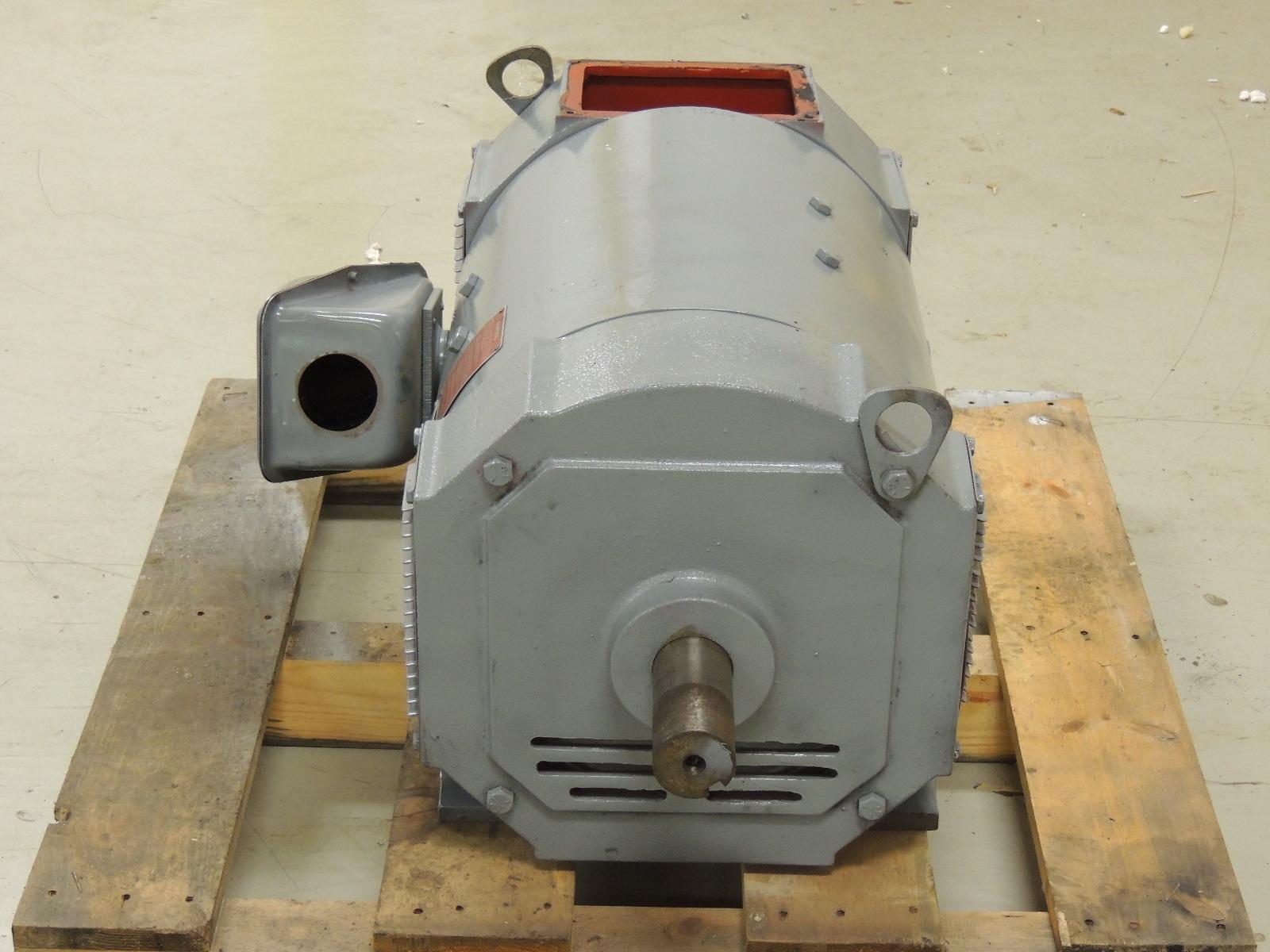 Rebuilt louis allis dc motor 32800450064 50 hp 500 volts for 500 hp dc motor