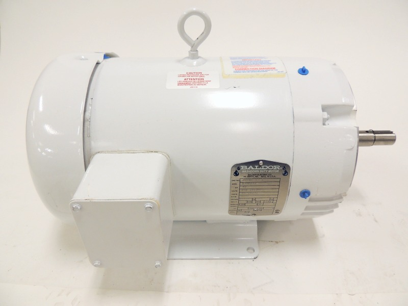 New Baldor Jmwdm3711t Washdown Duty Motor 10 Hp 215jm