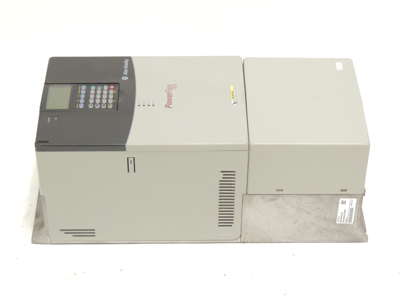 Allen Bradley Powerflex 700 Vfd 20bd040a0aynann0    20bd040a3aynann0 30hp 18m Wty