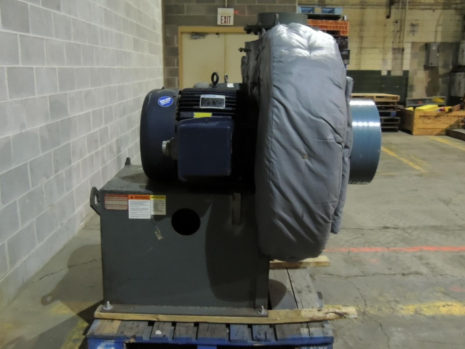 New York Blower Pressure Blower : Used new york blower pressure steel load tested