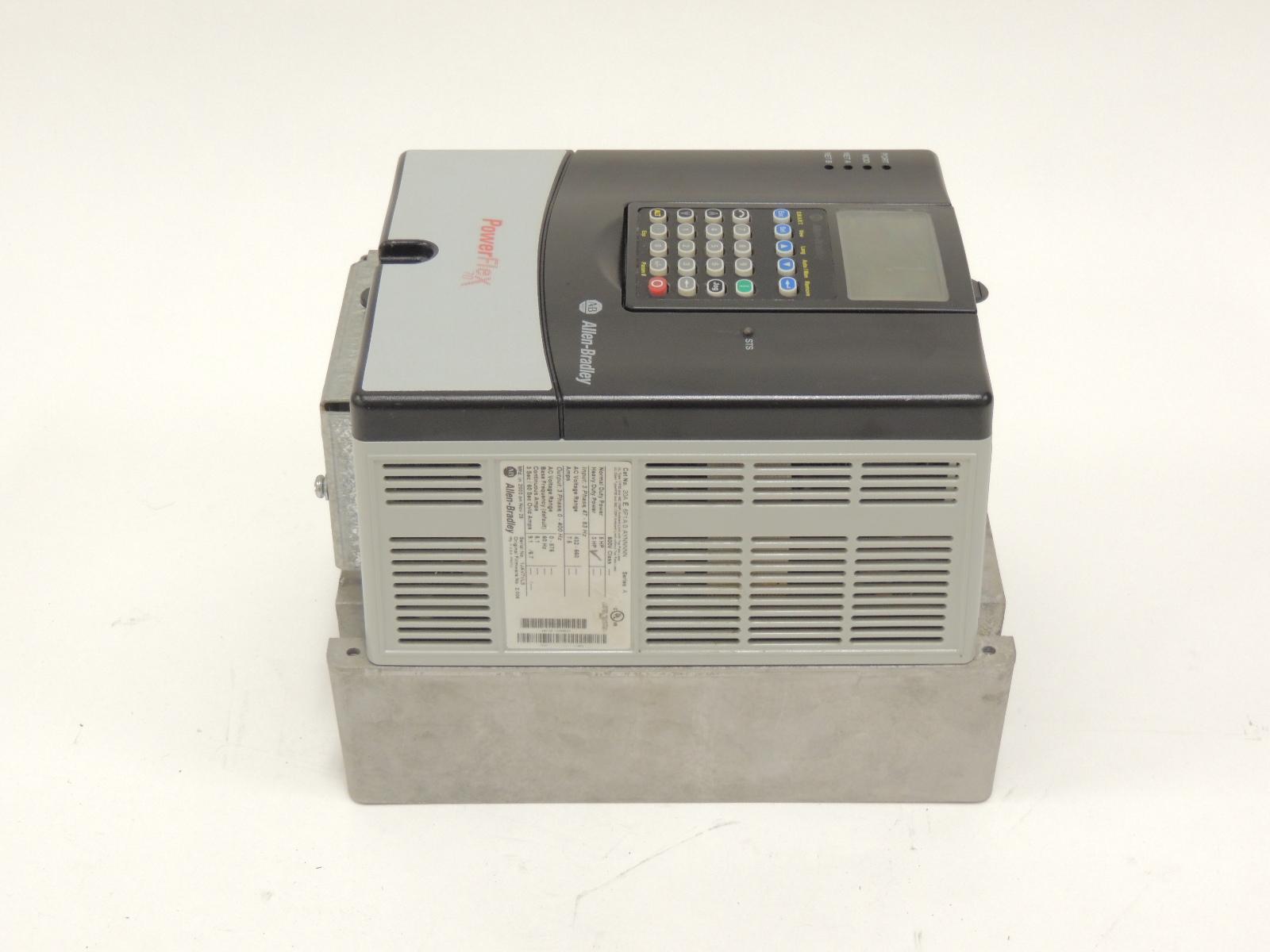 allen bradley powerflex 400 vfd manual