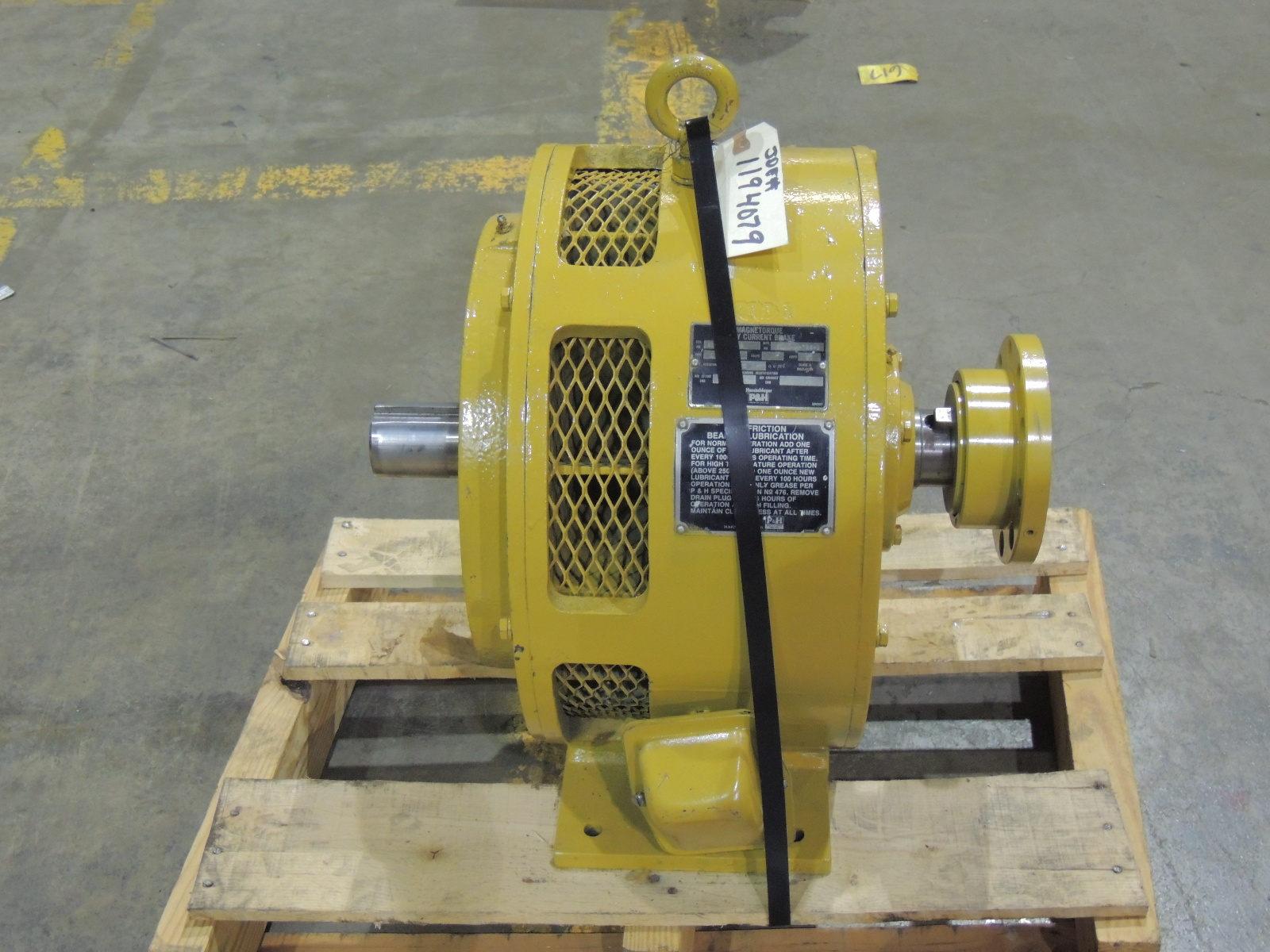 Rebuilt magnetorque eddy current brake 5100 a 788 2 type for Eddy current motor speed control