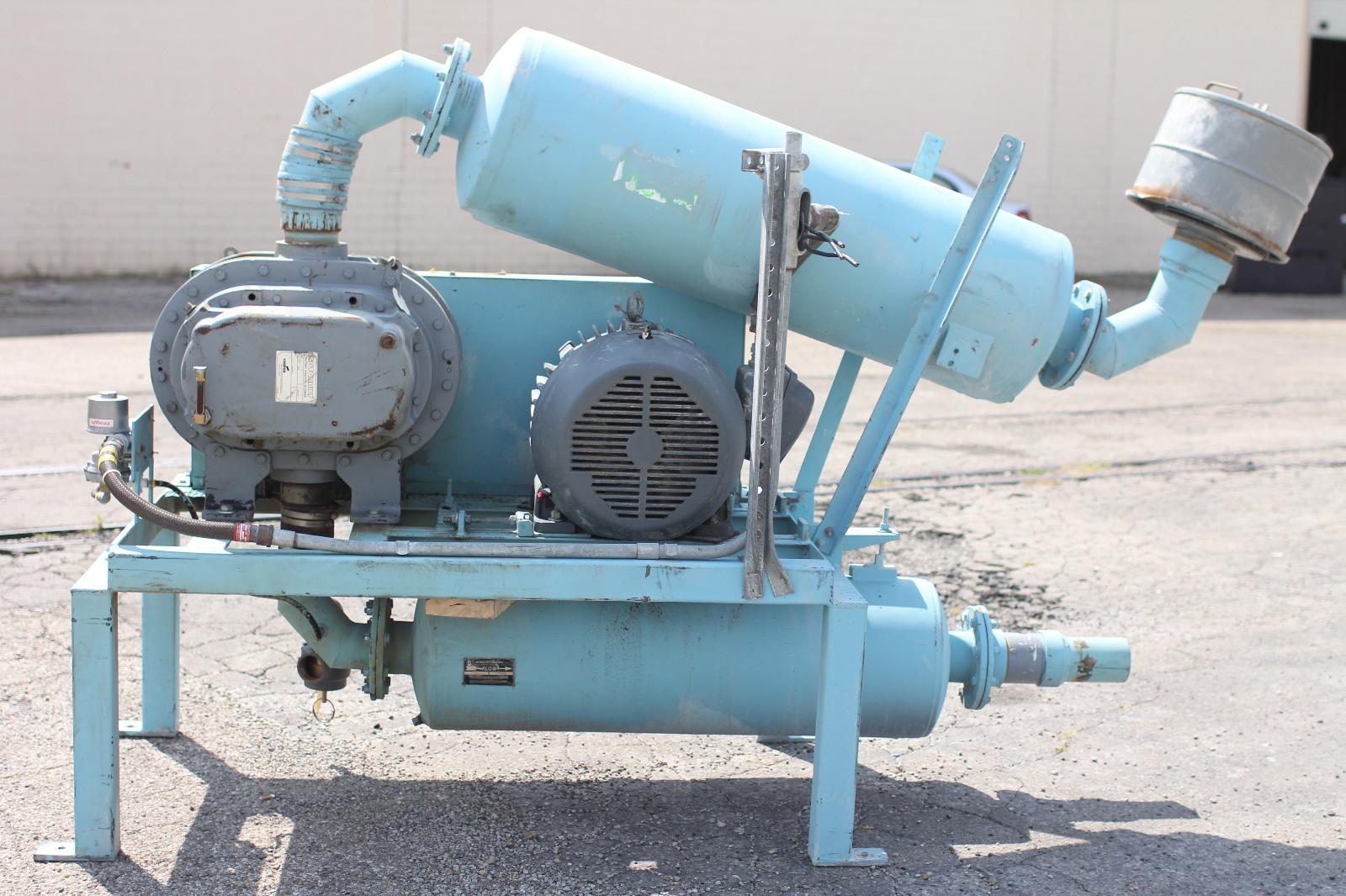 Explosion Proof Blowers : Used smoot vacuum blower sutorbilt gahhdla siemens hp