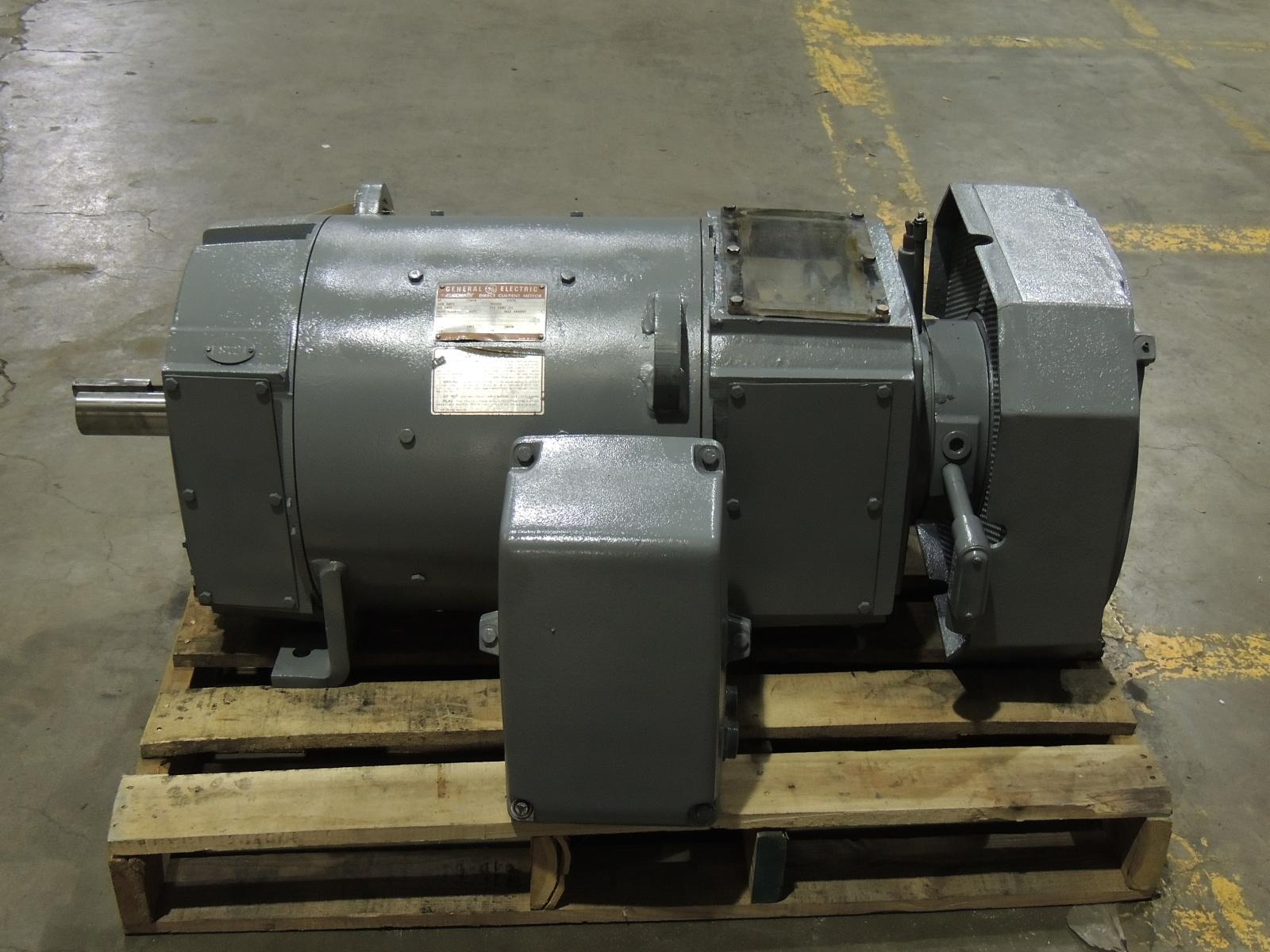 rebuilt ge 30 hp dc motor 5cd194ma044a804 type cd368a