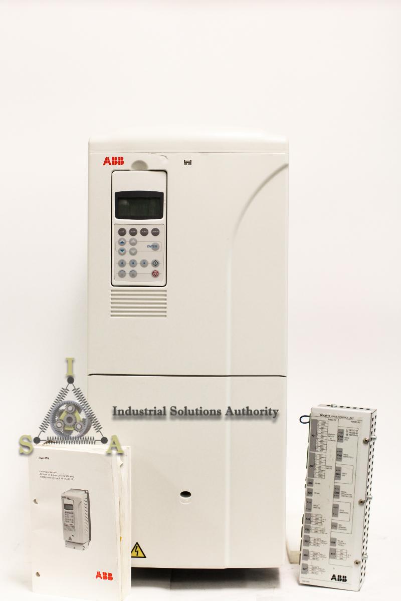 Rblt Abb Acs800 Vfd Acs800 U1 0205 5 P901 200 Hp 480 V