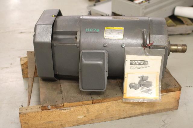 New baldor 25 hp dc motor d5525p p32800610228 1750 2300 for 500 hp dc motor