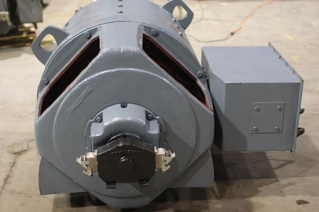 Used ge kinamatic 400 hp 1150 1500 rpm dc motor cd685a for Ge motors and industrial systems