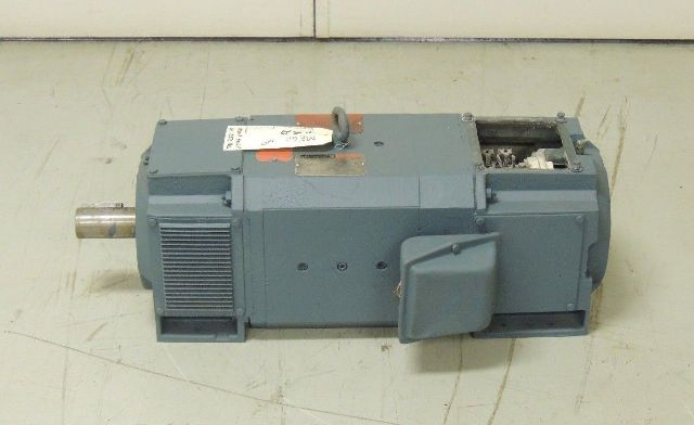 Used reliance dc motor lc2113atz 40 h p 2500 rpm 500 v for 40 hp dc motor