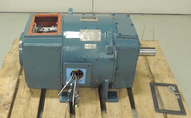 Rebuilt ge kinamatic dc motor cd365at 30 h p 1150 1600 for Ge motors and industrial systems