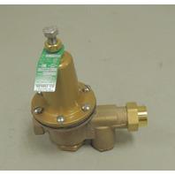 new watts water pressure reducing valve u5b z3 range 25 75 psi set 50 psi 1. Black Bedroom Furniture Sets. Home Design Ideas