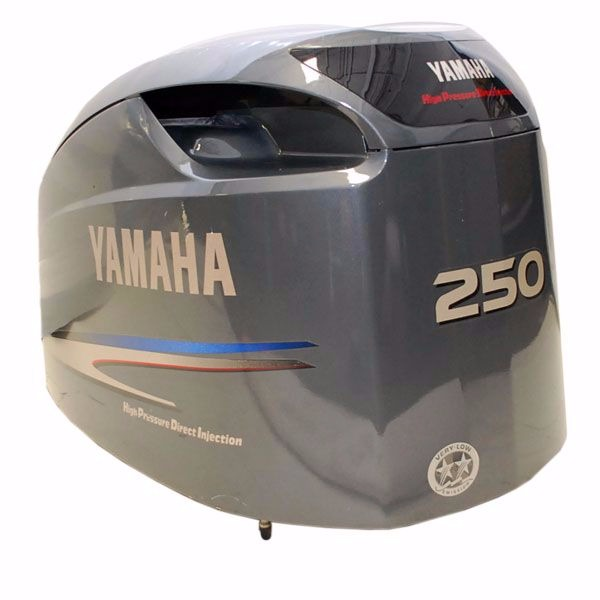 Yamaha 250 Hpdi Gray Outboard Boat Motor Top Cowling Cover
