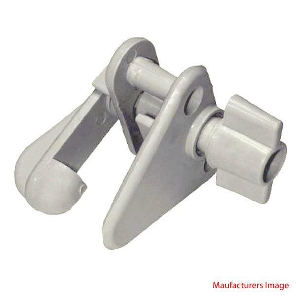 Th Marine Gl 2 Dp Gray Molded Plastic Pontoon Boat Gate