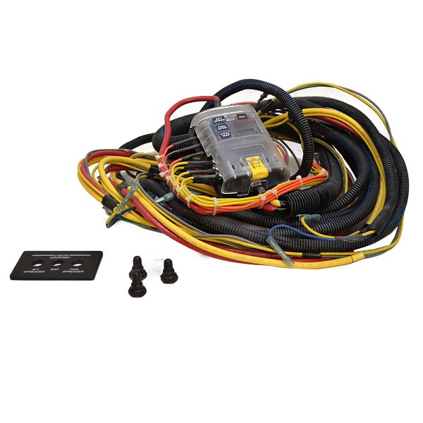 boat wiring kit solidfonts boat wiring harness easy to install ezacdc