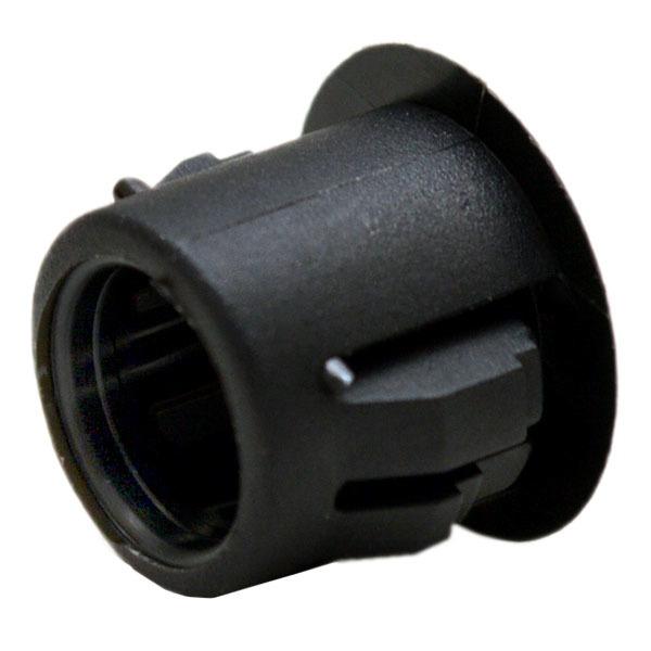 Cobalt black inch plastic lock hole plug