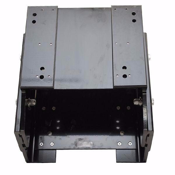 Slidemaster Boat Jack PlateTracker Black Aluminum 10 Inch Setback