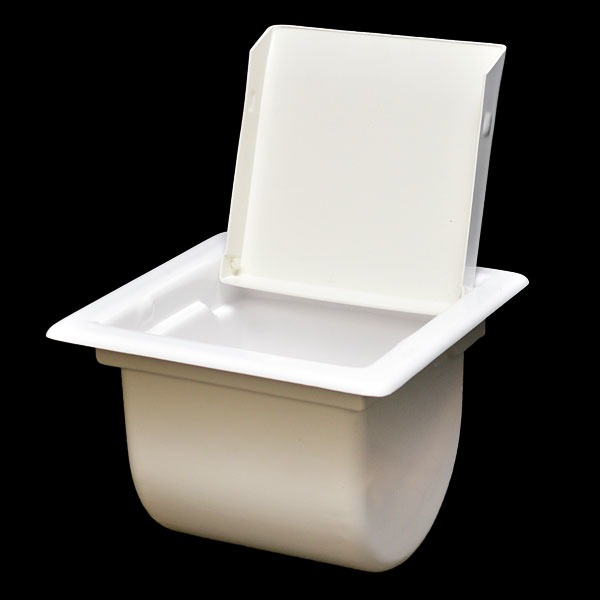 Harris Kayot 48492 White Plastic Boat Recessed Toilet
