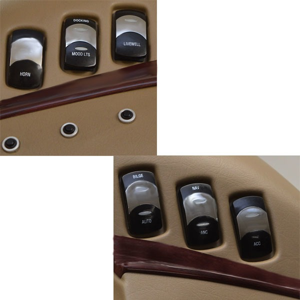 Inboard Outboard Boat Gauge Panel W Switches Great Lakes Skipper