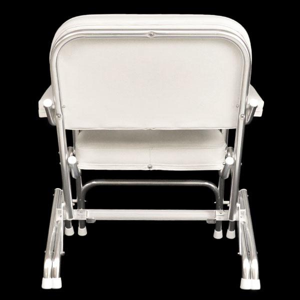 Custom f White Boat Folding Deck Chair Seat W