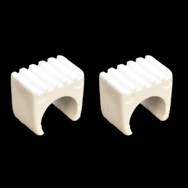 Cruisers Yachts White 1 Inch Plastic Boat Spacers Pair
