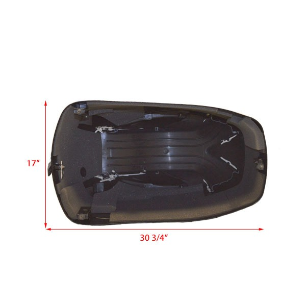 Mercury 80 efi quicksilver black boat motor top cowling for Mercury outboard motor cowling