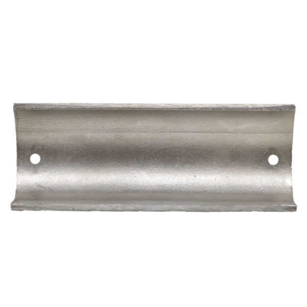 calabria stainless steel mirrored 5 inch boat rub rail cover cap single calabria stainless steel