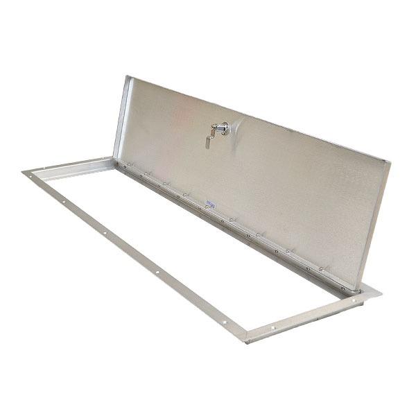 R design econo a brushed aluminum inch